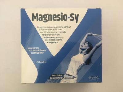 MAGNESIO SY 20 bustine