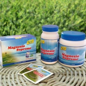 Magnesio Supremo solubile gusto naturale 300gr Natural Point