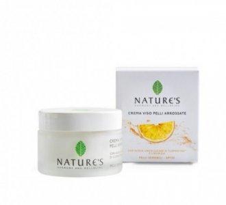 Crema Viso Pelli Arrossate SPF 20 pelli sensibili Nature's
