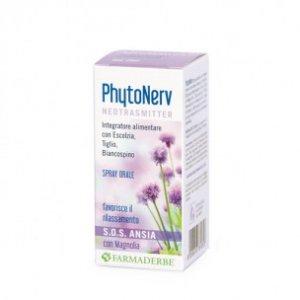 Phytonerv SOS Spray Orale 30ml Farmaderbe