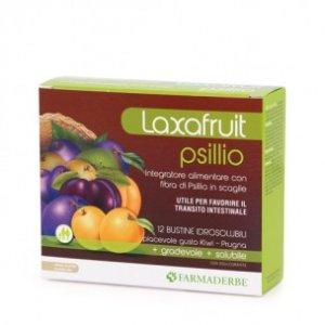 Laxafruit Psyllio bustine Idrosolubili Farmaderbe