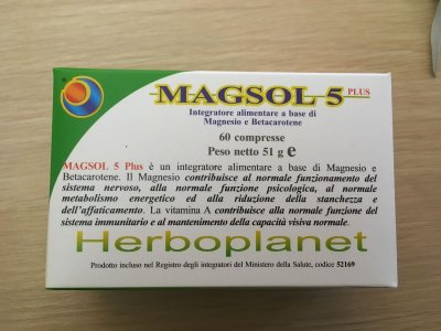 MAGSOL 5 PLUS magnesio herboplanet