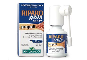 Riparo Gola Spray Propoli Naturando