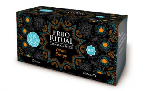 Erbo Ritual Gianluca Mech Infuso Energy Bio 20 Filtri Tisanoreica