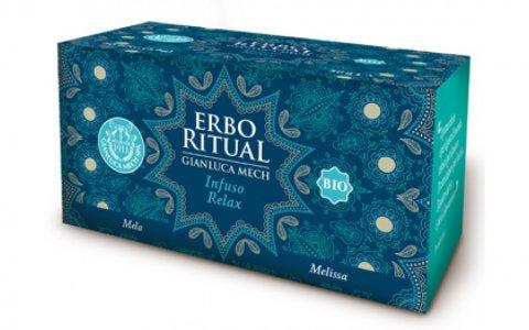 Erbo Ritual Gianluca Mech Infuso Relax Bio 20 Filtri Tisanoreica