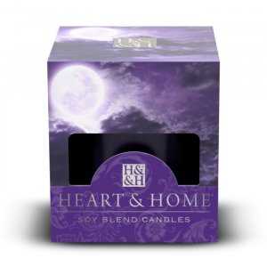 Candela di Soia Profumata - Violet Moon Heart & Home
