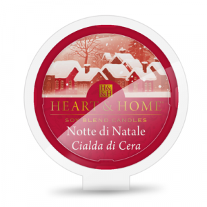 Candela di Soia Profumata - Atmosfera di Natale Cialda Heart & Home
