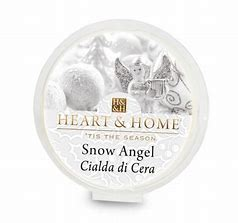 Candela di Soia Profumata - Snow Angel Cialda Heart & Home