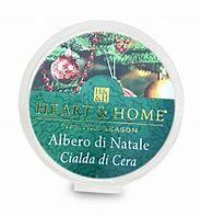 Candela di Soia Profumata in cialda - Albero di Natale cialda Heart & Home