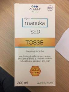 Manuka SED sciroppo Tosse