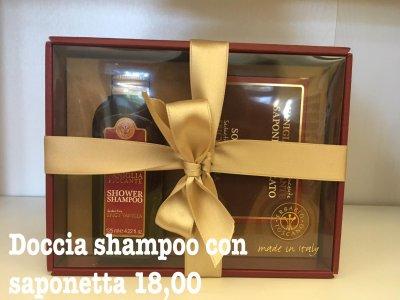 Set Doccia Shampoo con saponetta Vaniglia piccante