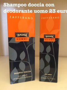 Shampoo doccia con deodorante Uomo L'amande
