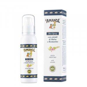 Deodorante spray malva e rosmarino