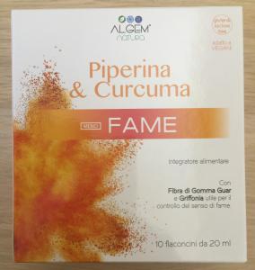 Piperina e Curcuma-Meno fame