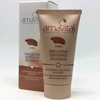 Emulsione idratante colorata Ambra