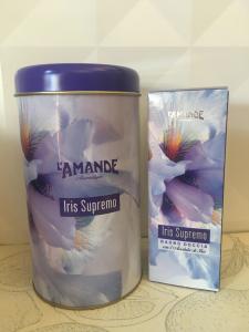 Iris supremo bagnoschiuma con latta regalo