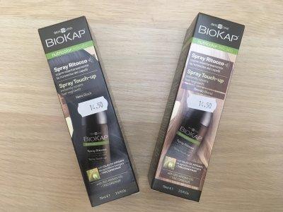 Spray ritocco Biokap castano scuro
