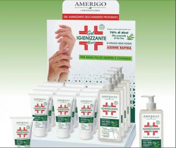 Gel igienizzante mani 250 ml Amerigo