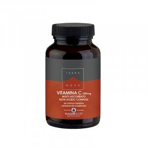 Vitamin C Complex 250mg Integratore Alimentare 50 Capsule - Terra Nova