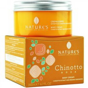 Crema corpo Chinotto Rosa Nature's Bios lIne