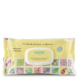 Salviette detergenti e rinfrescanti