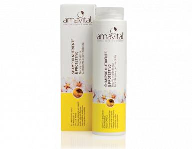 Shampoo nutrinete e protettivo Amavital