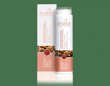 Shampoo Delicato per Capelli Secchi e Sfibrati Amavital