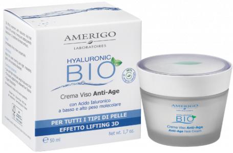 Crema viso anti-age Hyaluronic Bio Amerigo