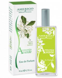 Eau de parfum profumo Armonia Verde Amerigo