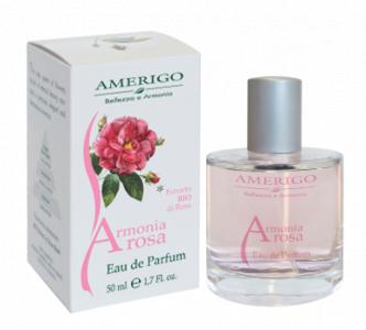 Eau de parfum profumo Armonia Rosa Amerigo