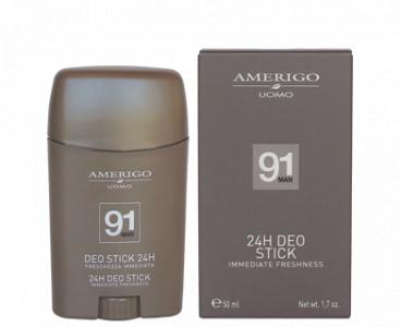 Deo stick 24H deodorante uomo Amerigo