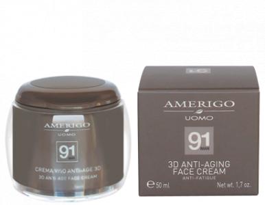 Crema viso anti-age 3D Uomo Amerigo