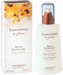 Spray deodorante Calicanto Amerigo
