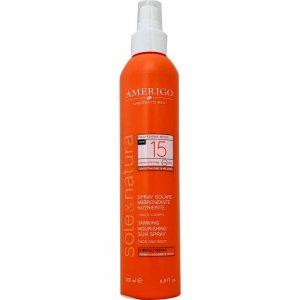 Spray solare protettivo nutriente SPF 15 Amerigo