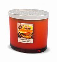 Candela di soia con 2 stoppini Mandarino speziato