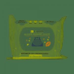 Salviette detergenti delicate Le Albicoccole La Saponaria