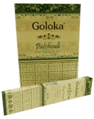 Incenso Patchouli Goloka