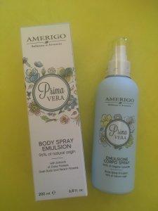 Emulsione corpo spray Primavera Amerigo