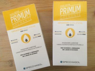 Primum drenante concentrato gusto ananas 1 + 1 a metà prezzo
