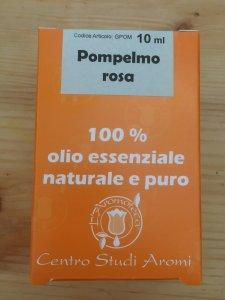 Pompelmo rosa olio essenziale 100% L'Aromateca