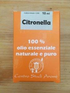 Citronella olio essenziale 100% puro L'Aromateca
