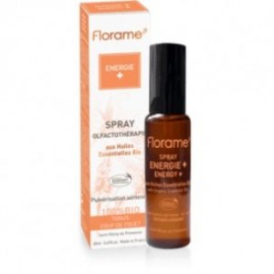 ENERGY (Energia) Spray Oli Essenziali BIO 20ml Florame