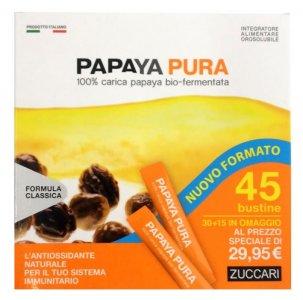 Zuccari Papaya Pura Antiossidante Sistema Immunitario