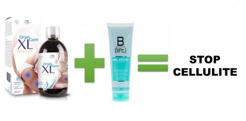 Acquista DrainGem XL + Gel attivo Anti Cellulite promozione di Aprile