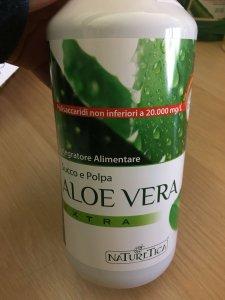 Aloe Vera Extra Succo e Polpa 1 litro Naturetica