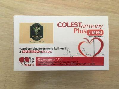 Colestarmony plus 60 compresse Colesterolo