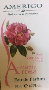 Eau de parfum Armonia Rosa Amerigo