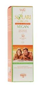 Emulsione solare d argan vegan spf 30