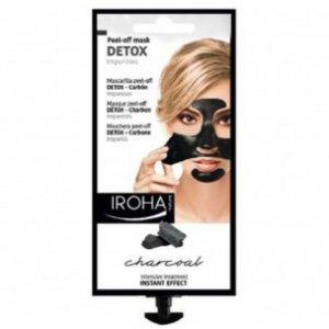 Maschera Peel-Off Detox al Carbone Iroha