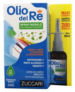 Olio del Re Spray nasale decongestionante Zuccari
